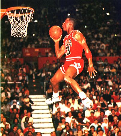 Michael Jordan - Slam Dunk Contest